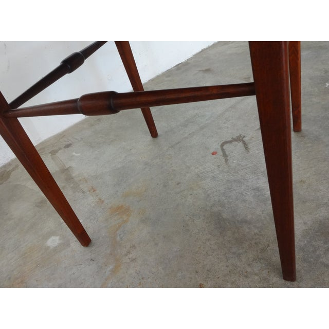Danish Modern Wooden Side Tables - A Pair - Image 3 of 6