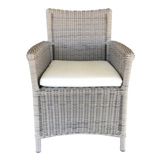 New San Diego Arm Chair by Manutti Belgian Outdoor Furnishings For Sale