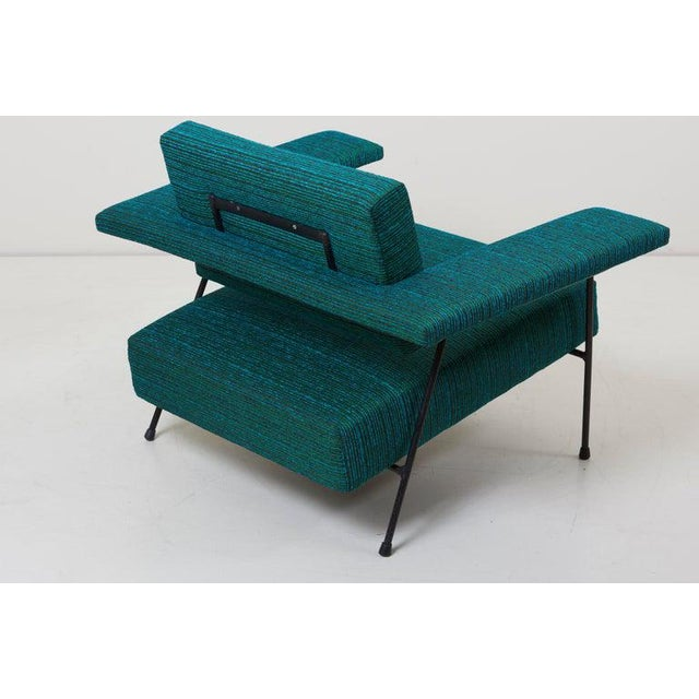 Metal Newly Upholstered Lounge Chair by Adrian Pearsall for Craft Associates, Us For Sale - Image 7 of 9