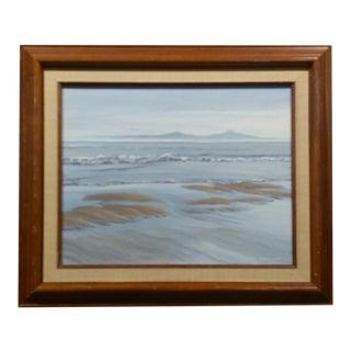 Erika Edwards - Looking Toward Santa Cruz Island -California Oil Painting