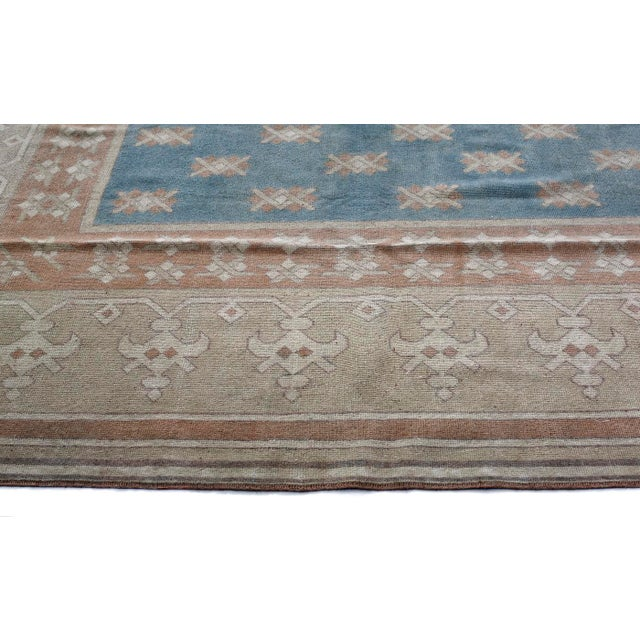 Anatolian rugs are hand knotted in the Central Anatolia or Asia Minor region of Turkey. The patterns are from Ottoman era...