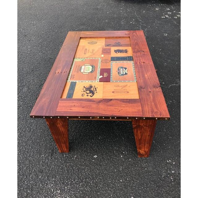 Cigar Box Coffee Table - Image 4 of 11