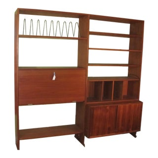 Hans Wegner Double Bay Teak Room Divider by Ry Mobler For Sale