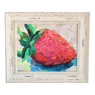 Strawberry Collage For Sale