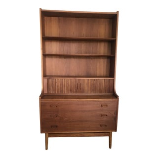 Danish Modern Teak Secretary/Dresser by Johannes Sorth for Bornholm Mobelfabrik For Sale