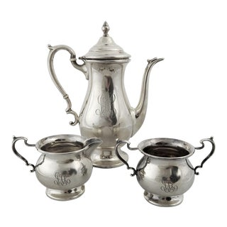 Sterling Silver Tea & Coffee Set