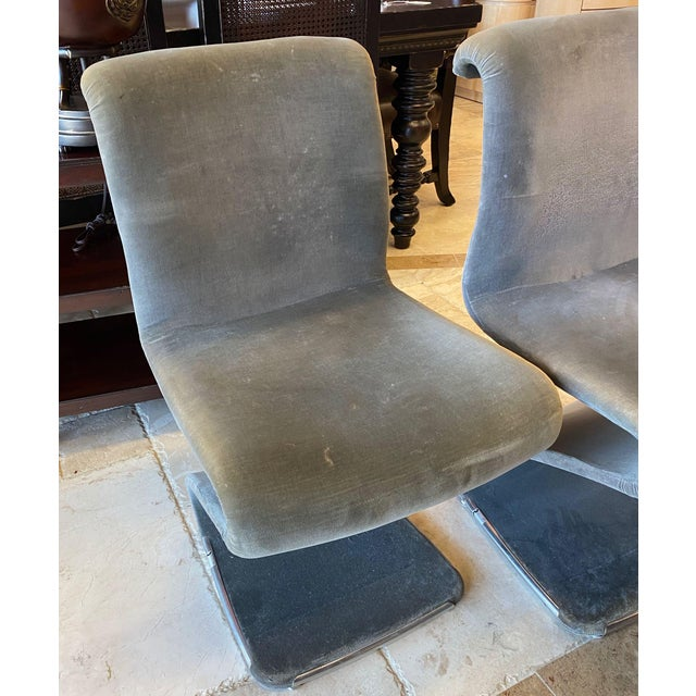 1970s Linea Rima Z Chairs - Set of 4 For Sale - Image 5 of 13