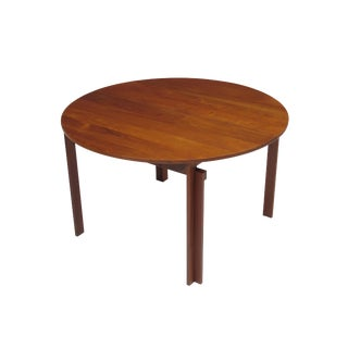 Peter Hvidt Solid Teak Danish Dining Table For Sale