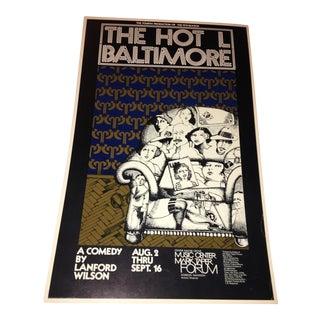 Original 'The Hot L Baltimore' Poster