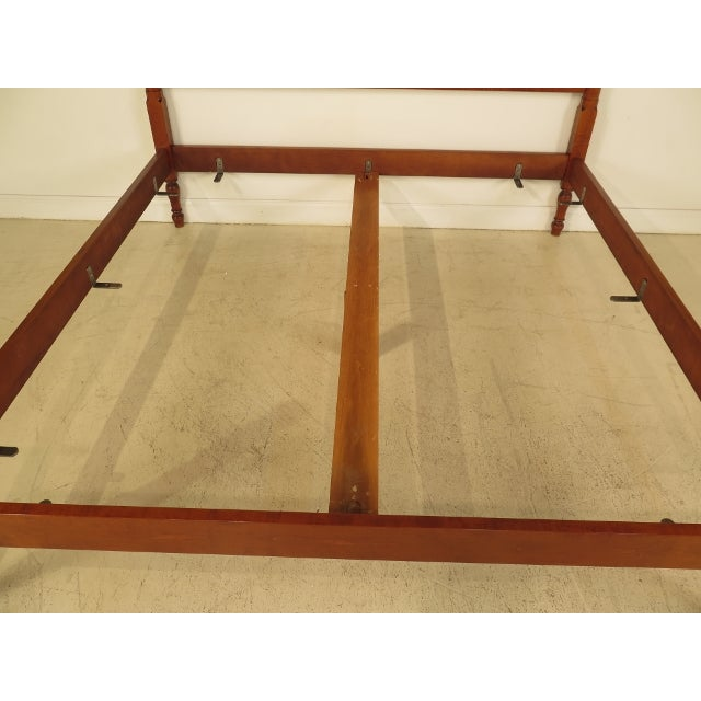 Eldred Wheeler King Cannonball Bed For Sale - Image 7 of 11