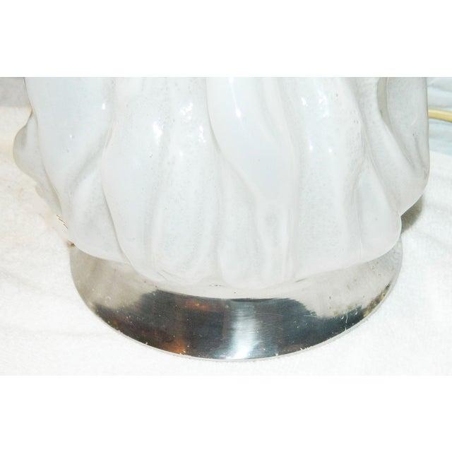 Vintage Italian Murano Stalagmite Table Lamp - Image 3 of 5