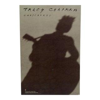 1989 Tracy Chapman Crossroads Album/CD Poster