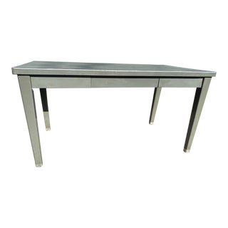 Vintage Haskell Manufacturing Inc Metal Desk For Sale