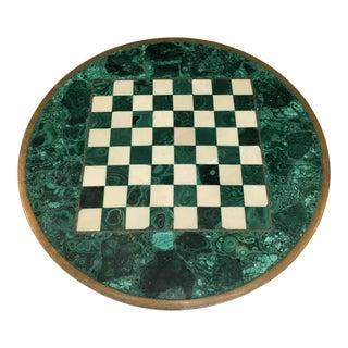 Malachite Chess Board For Sale