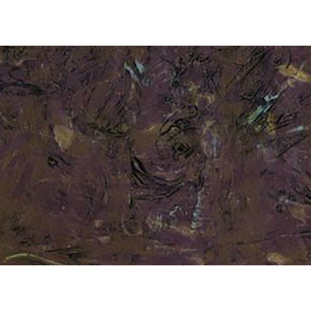 Abstract Milton Resnick Untitled Collograph For Sale - Image 3 of 5