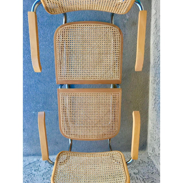 Classic Mid-Century Cesca Chairs - A Pair - Image 4 of 6