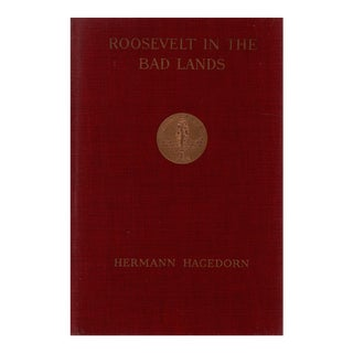 """1921 """"Roosevelt in the Bad Lands"""" Collectible Book For Sale"""
