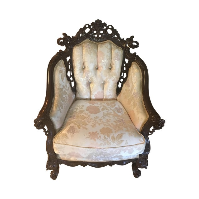 Renaissance Style Accent Chair - Image 1 of 4