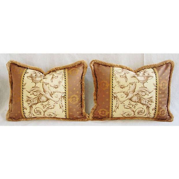 Designer Braemore Mythical Griffin Pillows - Pair - Image 2 of 8