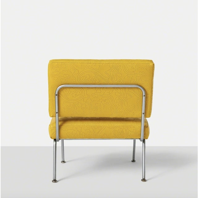 Set of Five Florence Knoll Chairs Model #31 for Knoll International, Ca. 1954 For Sale In San Francisco - Image 6 of 10