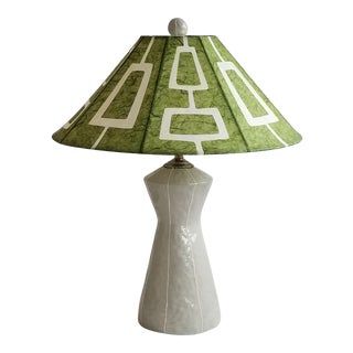 Space Needle Coolie Hat Ceramic Lamp