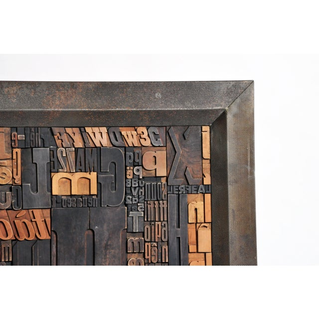 """""""Les Lettres"""" Contemporary Art Work by Raoul W. For Sale In Chicago - Image 6 of 11"""