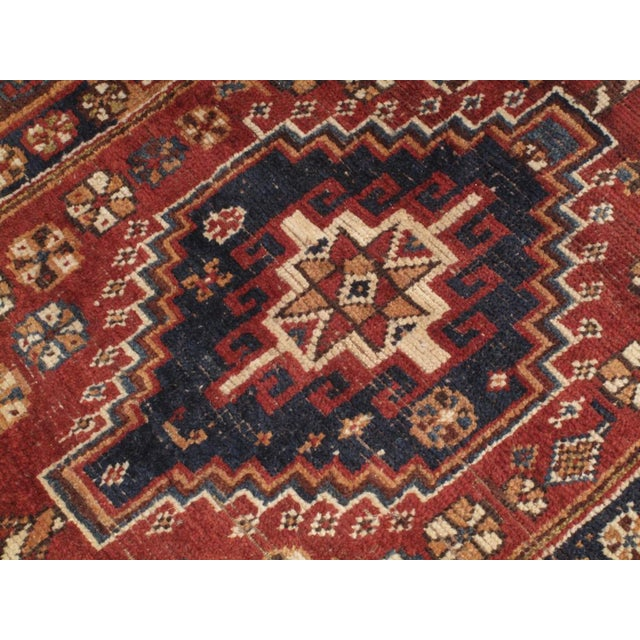 1930s Qashqai Rug For Sale - Image 5 of 8