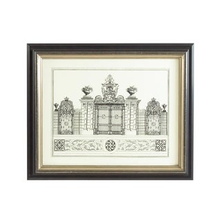 Chelsea House Inc Grand Garden Gate IV Lithograph Print