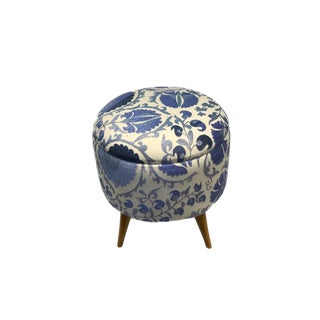 21st Century Handcrafted Turkish Ottoman For Sale