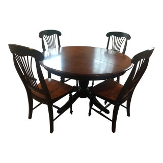 Thomasville Weathered/Rustic Style Dining Set For Sale