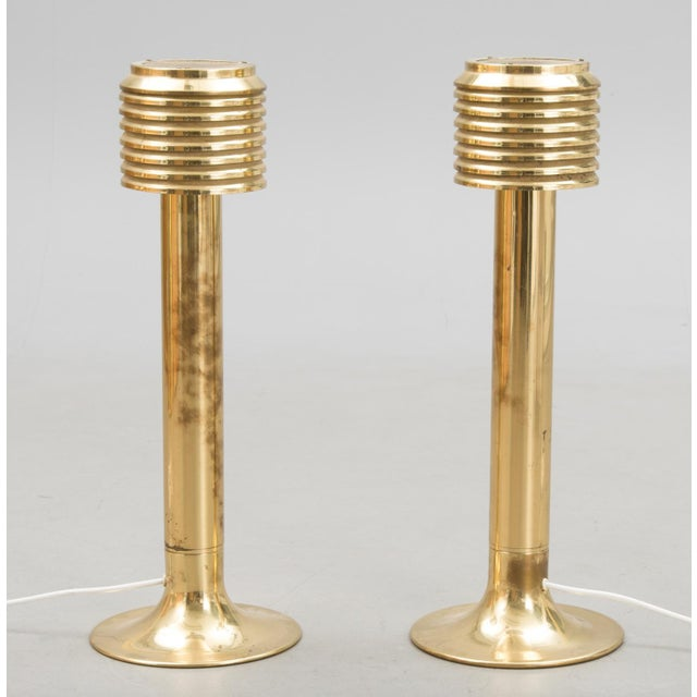 Hans-Agne Jakobsson Pair of Tall Table Lamps by Hans Agne Jakobsson For Sale - Image 4 of 5