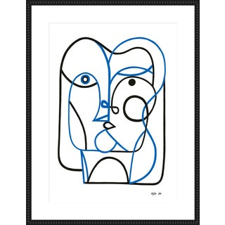 """Large """"Two"""" Print by Sia Dzahn, 38"""" X 50"""" For Sale"""