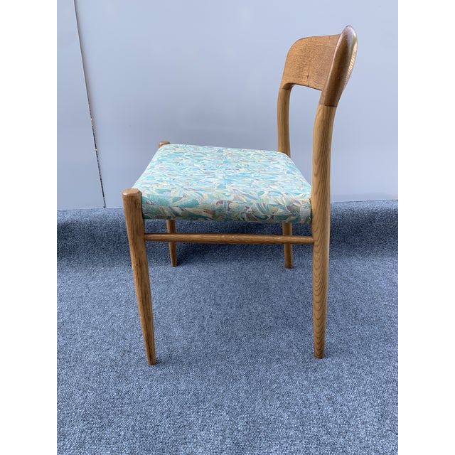 1960s 1960s Danish Side Chair by j.l. Moller for Højbjerg For Sale - Image 5 of 12