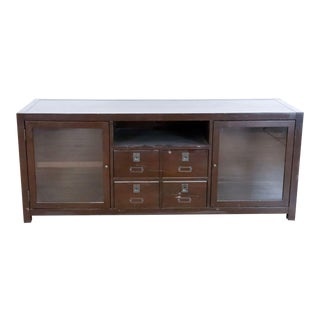 Crate & Barrel Media Console For Sale