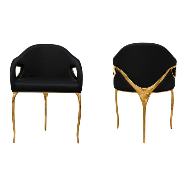 Chandra Dining Chair From Covet Paris For Sale