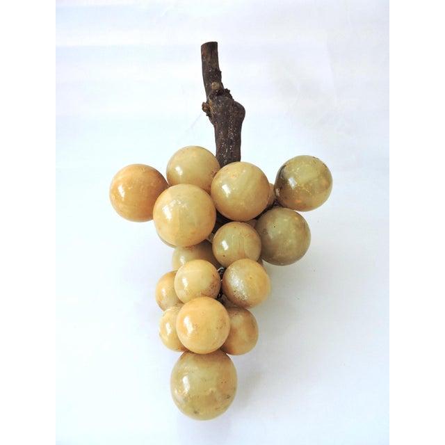 Vintage Italian Alabaster Grape Cluster - Image 2 of 5