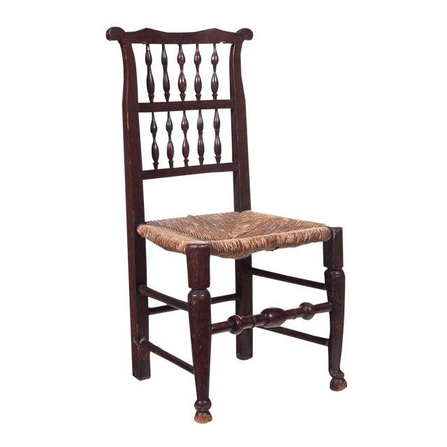 English 19th Century Farmhouse Chair For Sale