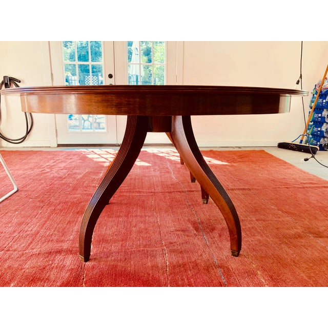 Rose Tarlow Regency Rose Tarlow Dining Table For Sale - Image 4 of 8