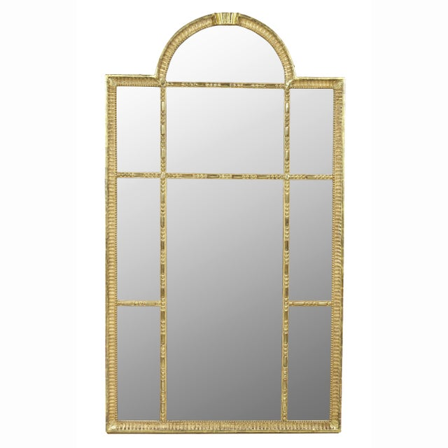 Swedish Neoclassic Giltwood Mirror For Sale In Boston - Image 6 of 6