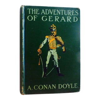 "1900s French Novel, ""The Adventures of Gerard"" by Arthur Conan Doyle For Sale"