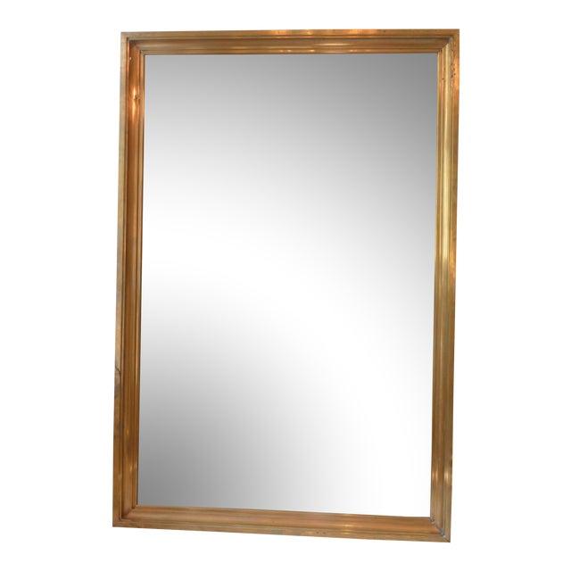 Modern Bras Bistro Mirror - Image 1 of 4