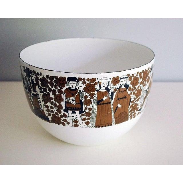 Mid Century Kaj Franck for Finel Enamelware Arabia Bowl For Sale - Image 5 of 8