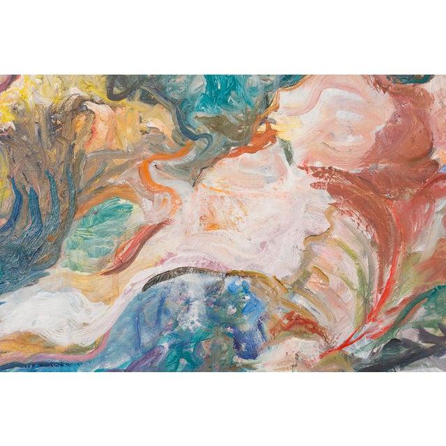 "Abstract William Eckhardt Kohler, ""Pinyon Jay"" For Sale - Image 3 of 10"