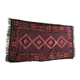 Antique Persian Wool Rug - 5'10 X 3'2
