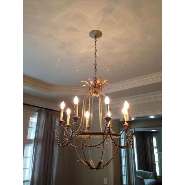 Traditional Currey and Company 9948 Elegance Chandelier For Sale - Image 3 of 3