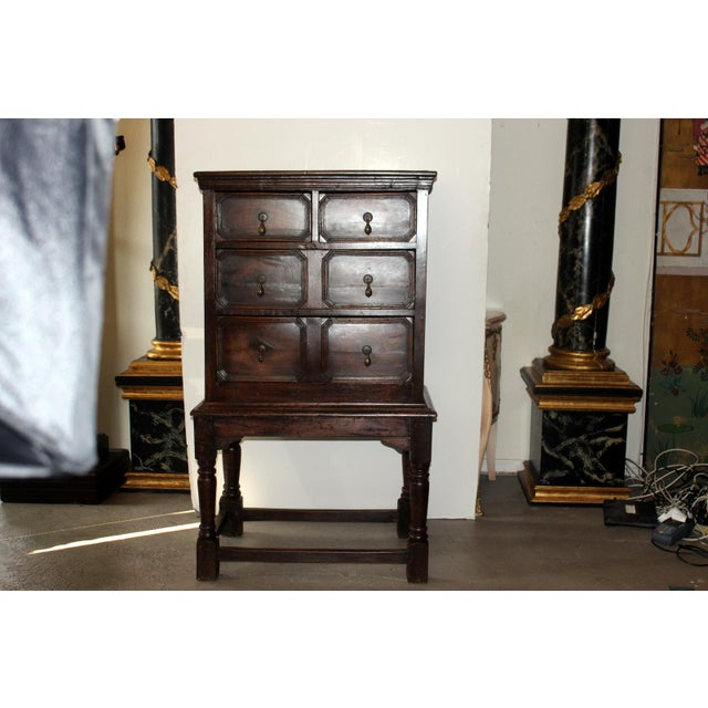 19th Century English Chest on Stand - Image 2 of 6