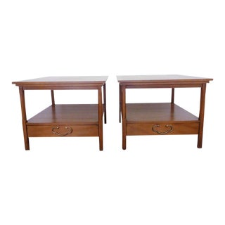 Mid-Century American of Martinsville Side Tables - a Pair For Sale
