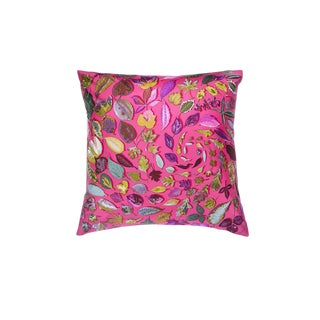 """Tourbillons"" Hermès Silk Scarf Pillow For Sale"