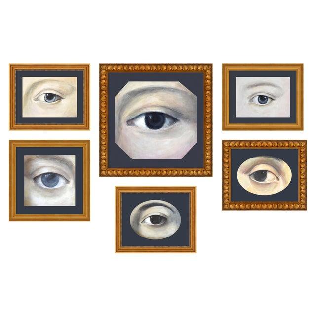 "Medium ""Lover's Eye Set of 6"" Print by Susannah Carson For Sale"