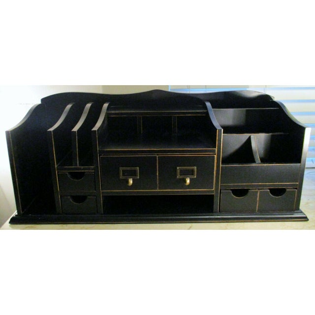 Ballard Designs Home Office Desk Organizer For Sale - Image 11 of 11